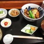 多満川 - ランチセット ¥930