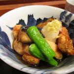 多満川 - 鶏とナスの揚げだし