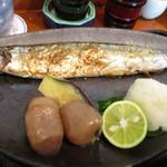 多満川 - 秋刀魚塩焼き