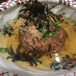 酒処 依屋 - 料理写真:茶巾豆腐。うまい