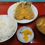 エスエス - アジフライ定食