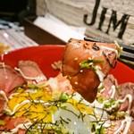 ジムビームバー - お肉アップ