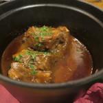 75155131 - カカオと牛肉の赤ワイン煮