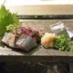 75158509 - 秋刀魚の刺身
