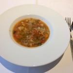 75158548 - 野菜の水分だけで煮たスープ