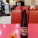 75159711 - 「瓶ビール」(キリン 520円)。入店時には先客ゼロだった。