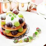 葉山ホテル音羽ノ森 カフェテラス - 季節のパンケーキ【10月11月】