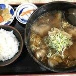 ちとせ - チャーシュー麺並税込900円 定食税込100円