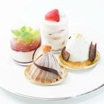葉山ホテル音羽ノ森 カフェテラス - 自家製プチケーキ