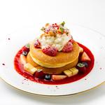 葉山ホテル音羽ノ森 カフェテラス - 季節のパンケーキ【1,2,3,4月】