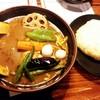 ラマイ - 料理写真:スープカレー チキン/ライスM/辛さマニス 1,100円
