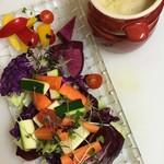 KUTSURO gu Café - バーニャカウダ
