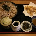 葱房厨 - 料理写真:下足天ざる蕎麦