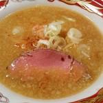 75162024 - 熟成ローストビーフと黄金海老の蟹味噌らぁ麺~海と大地の恵み~