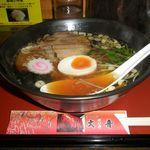 ラーメン大喜 - 料理写真:ラーメン 700円 (太麺)
