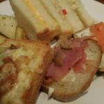 サンドッグイン神戸屋 - ピザトースト、オープンサンド