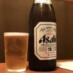 まる田 - 中瓶600円