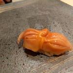 鮨みやもと - 赤貝(有名な閖上産です)