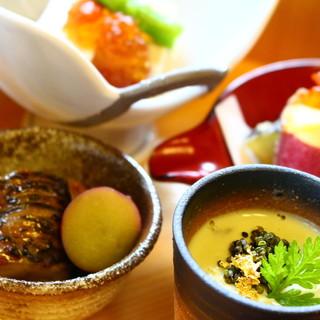 《大人の贅沢が叶う場所》地元食材を活かす鎌倉和食