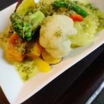 九州豚骨 ちゃんぽん 頃場 - 秋のおすすめ 温野菜のホットサラダ~和風バーニャカウダソース~