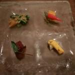 75168520 - 健康野菜の特製オードブル四種盛り合わせ
