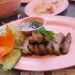 サイアム ガイズ トーキョー - 豚トロ焼き450円