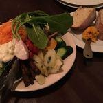 ソプラッチリア - 野菜の前菜盛