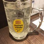 京都 錦 天ぷら酒場 たね七 - 気合のレモンサワー(380円)