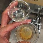 キリンビール - ドリンク写真:麦汁飲み比べ