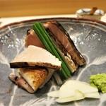 銀座 よし澤 - 鰆の藁焼き