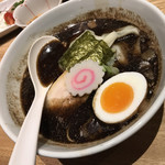 京都 五行 - 焦がし醤油麺(ハーフ)(690円)
