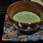 茶房 やなぎ庵 - 結び柳の抹茶