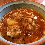 チャイハナ - 日替りランチ(骨付きチキンとジャガイモのカレー)