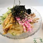 大貫本店 - 夏季限定冷麺(つけ麺)