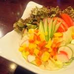 スモーク ビア ファクトリー - とれたて野菜を使用