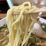 長尾中華そば - 中太ちょいちぢれ麺