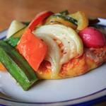 しあわせをはこぶパン - 料理写真:野菜の森