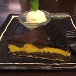 ゆる音家 - チョコとかぼちゃのチーズケーキ