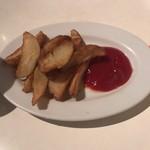 バワリー・キッチン - ランチセットのポテト