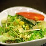 とんぼ亭 - サラダ