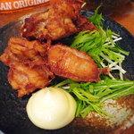 旬菜酒房 彦べえ - 鶏の唐揚げ定食