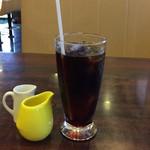 レストハウスポプラ - アイスコーヒー♪