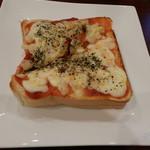 Cafe ULURU - ピッツアトースト