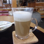 三本松茶屋 - カフェラッテ