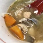 あら浜 - 鮭のあら汁
