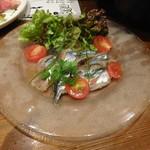 SALVATORE CUOMO & BAR - スモーク秋刀魚のマリネ