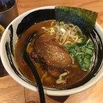 麺場 浜虎 - 醤そば+大盛(サービス)