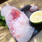 食らんど もっちゃん - 料理写真:鳴門鯛造り