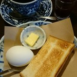 ジロー珈琲 - 料理写真:モーニングサービス