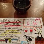 75184639 - ワイン2時間飲み放題\980(17-1-)